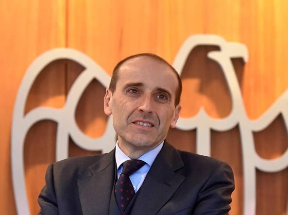 Alberto Vacchi, candidato per la presidenza di Confindustria. � amministratore delegato di Ima