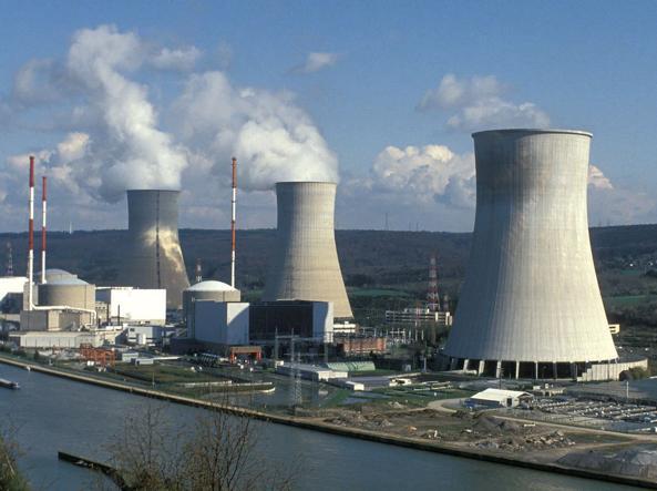 La centrale nucleare di Tihange, in Belgio