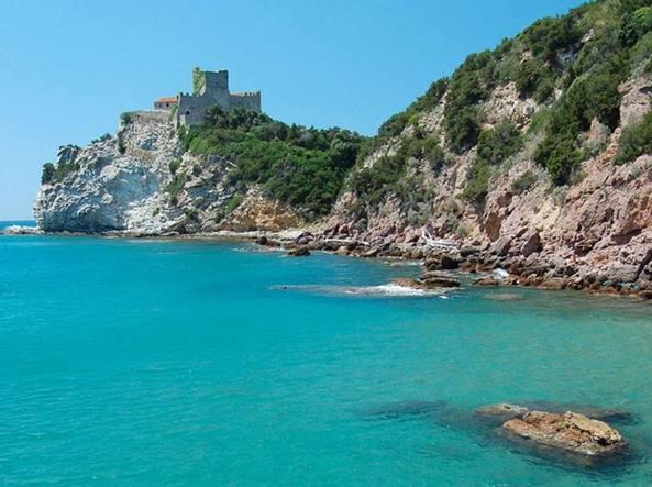 La costa della Rocchette a Castiglione della Pescaia (Grosseto)