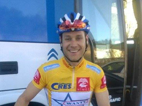 Il ciclista belga Antoine Demoitié (Foto @TeamWantyGobert/Twitter)