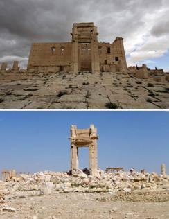 Siria, Palmira dopo Isis