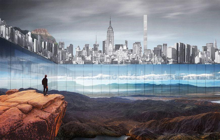 New york la visione fantascientifica di un central park for Un re a new york