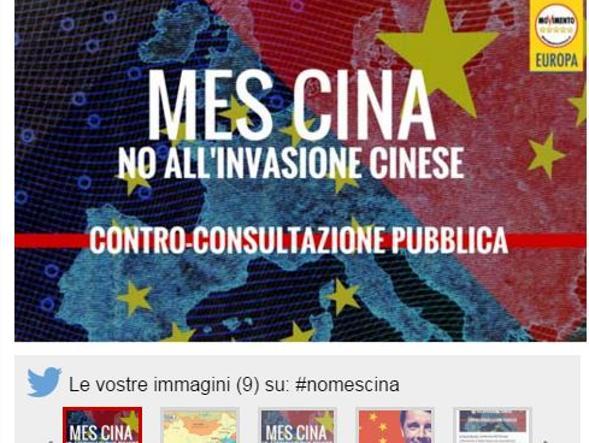 La campagna anti Mes Cina sul blog di Grillo