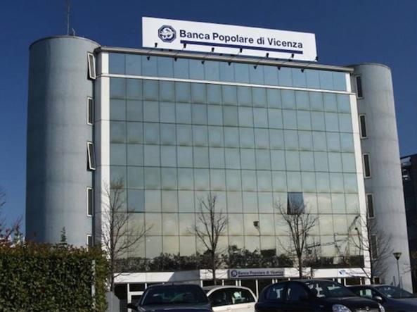 La sede della Popolare di Vicenza