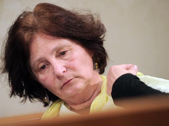 Paola Regeni al Senato (LaPresse)