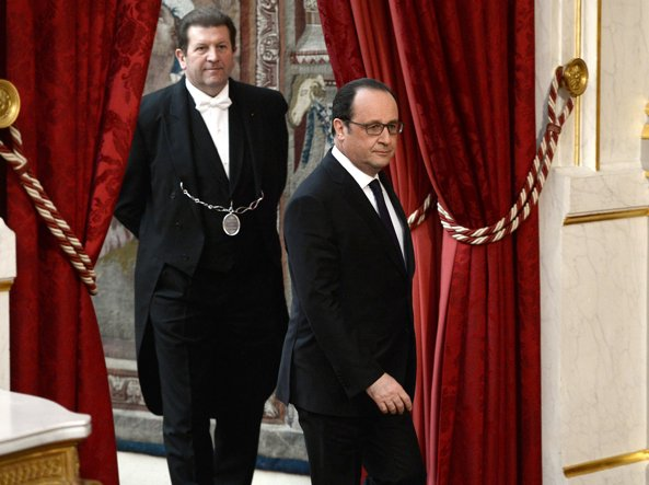 Il presidente francese François Hollande, 61 anni