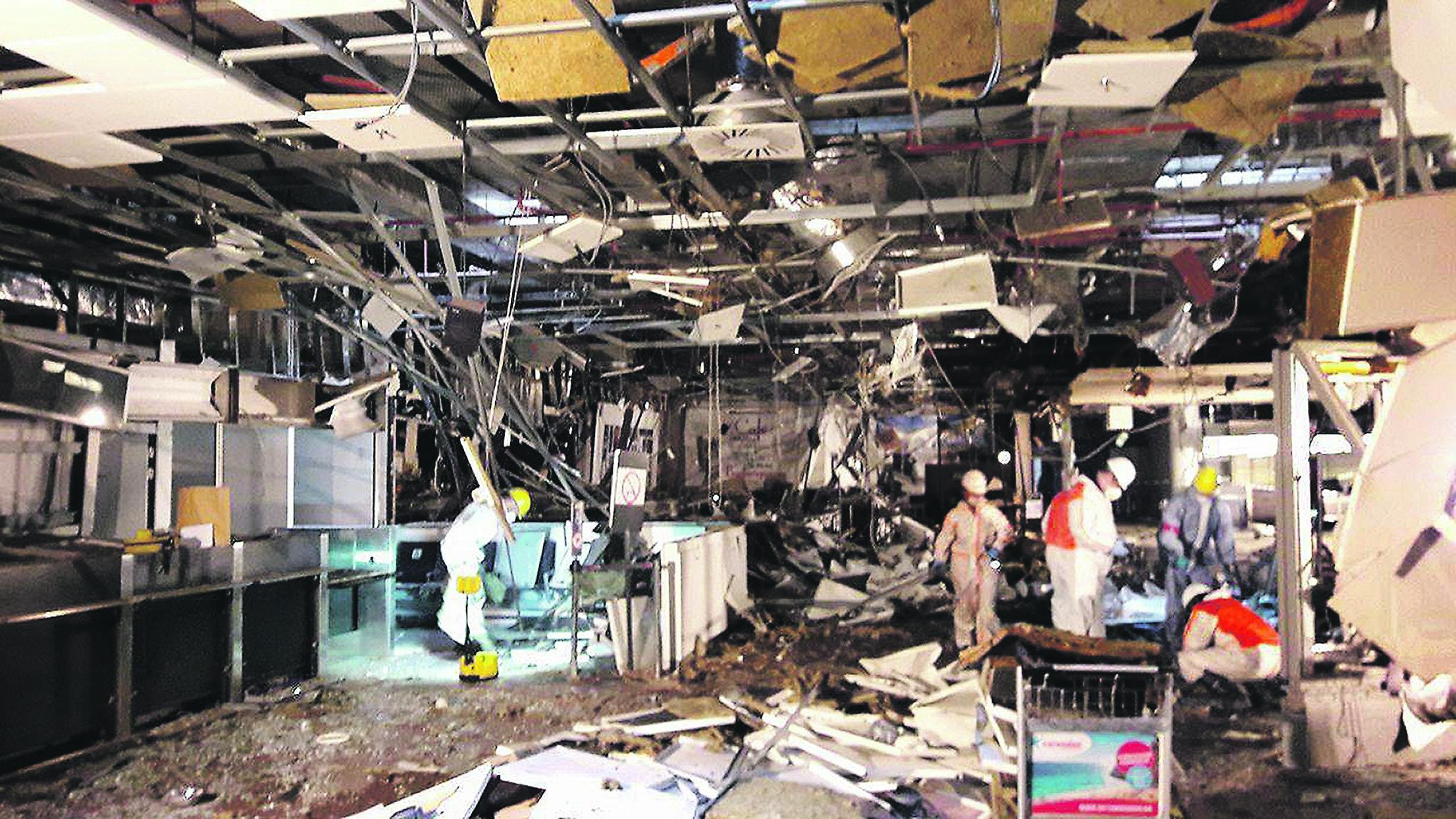 Attentato bruxelles le immagini dell aeroporto 24 ore for Interior zaventem