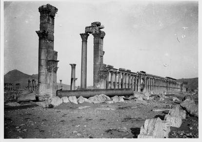 Palmira come non l'avete mai vistaNel 1910 gli scatti di Tony Andrè