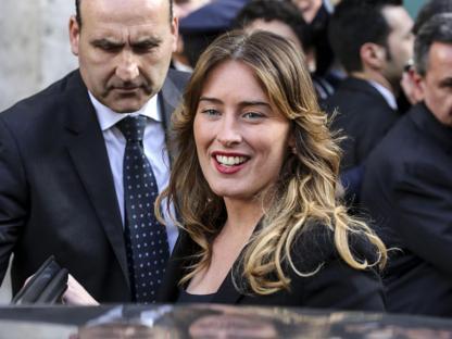 La ministra per i Rapporti con il Parlamento, Maria Elena Boschi  (Ansa)