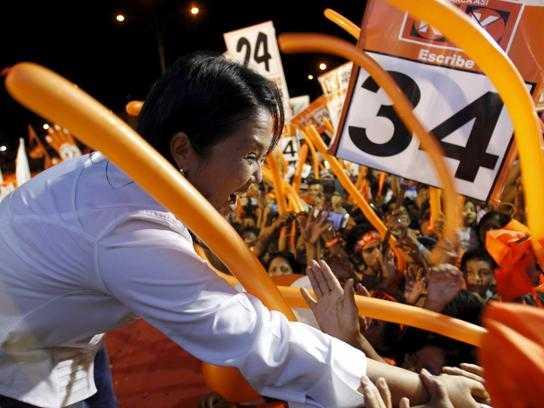 Perù: exit poll, a Fujimori primo turno