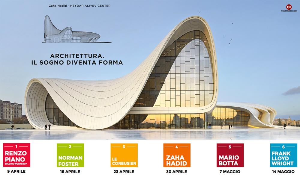 Norman foster in edicola con il corriere la seconda for Architettura e design milano