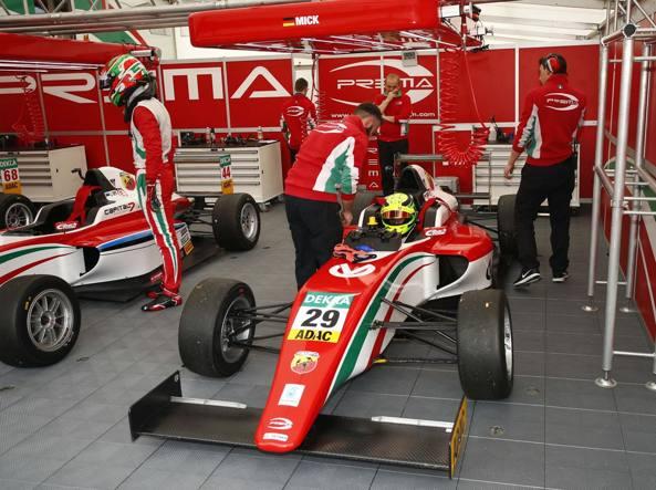F4, Mick Schumacher pronto al via: in pista a Misano