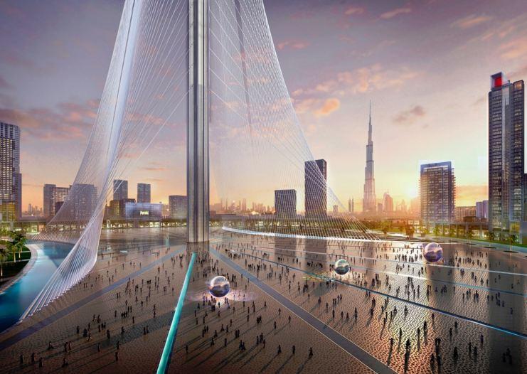 Dubai calatrava presenta il nuovo grattacielo pi alto - Dubai grattacielo piu alto ...