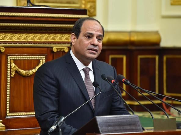 Al Sisi in una foto d'archivio (Epa)