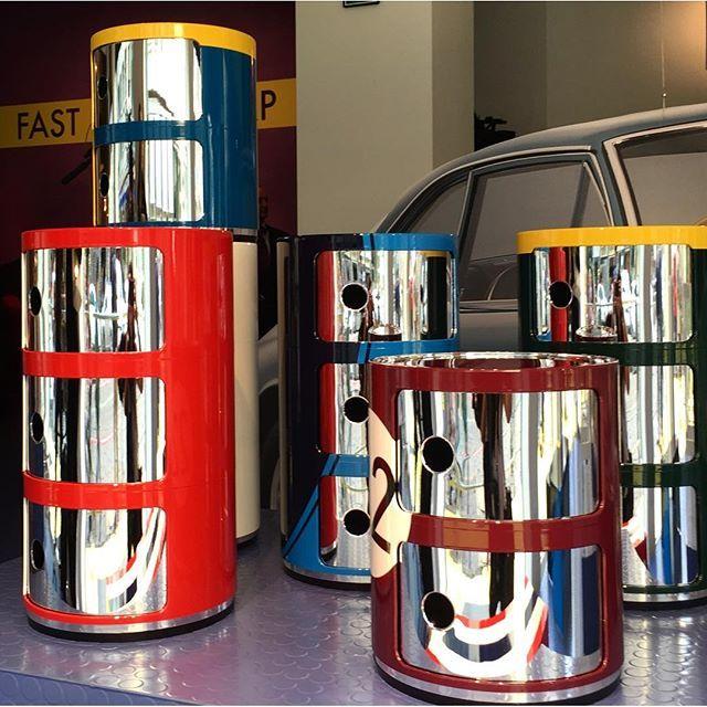 Lapo elkann e il salotto garage racing e pellicole sui - Mobili per garage ...
