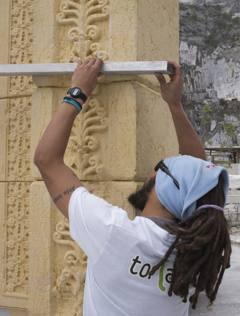 L'Arco di Palmira, distrutto dall'Isis e ricostruito con la stampante 3D, ora è  a Londra