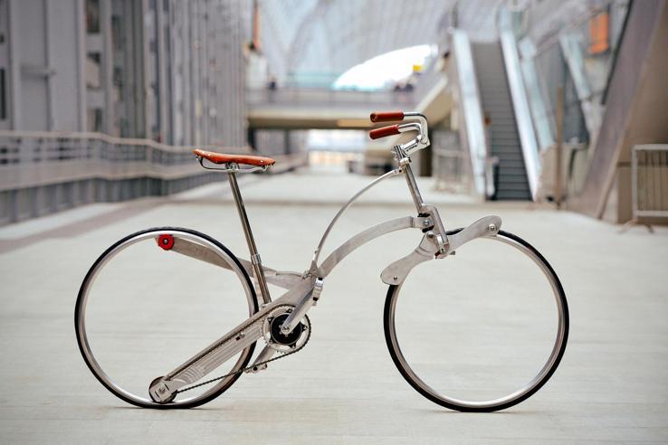 Le bici del futuro in mostra a Gent, Belgio