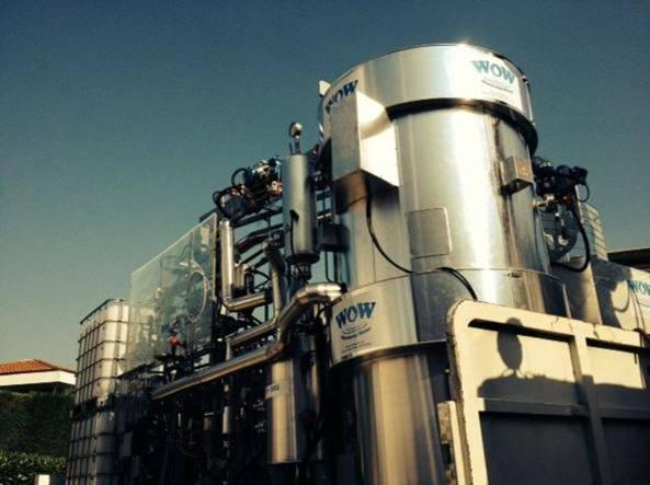 L'impianto Wow a Saluggia