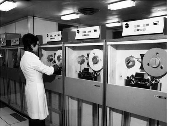 La sala macchine del Cnuce di Pisa