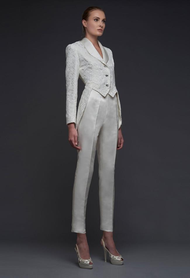 Matrimonio In Frac : La nuova sposa osa con il pantalone o jumpsuit