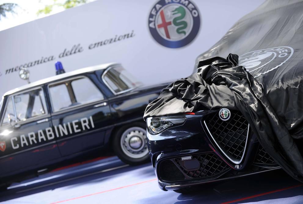 Lalfa Romeo Giulia Dei Carabinieri Corriereit