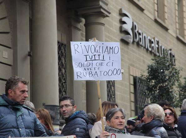Banca Etruria. GdF: