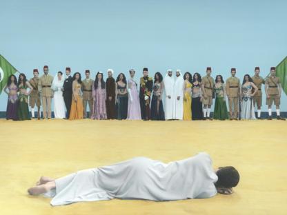 Un'immagine di Youssef Nabil (courtesy dell'artista/Galerie Nathalie Obadia Parigi /Bruxelles/The Third Line)
