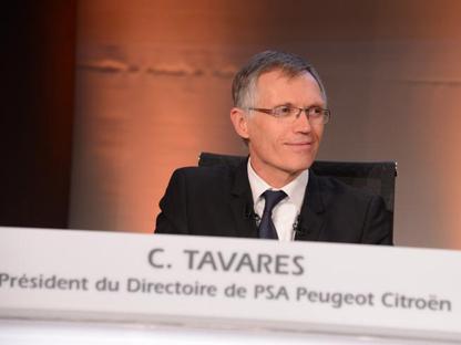 Carlos Tavares, presidente del gruppo PSA
