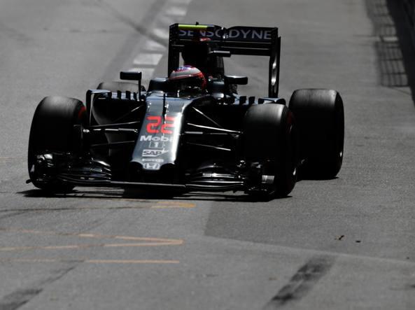 Jenson Button sulla McLaren-Honda (Getty)