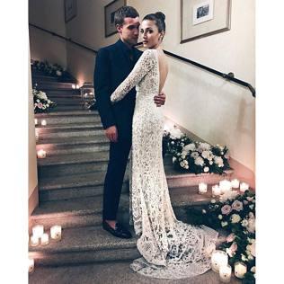 Eleonora Carisi, sposa tra Elie Saab e Valentino