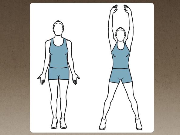Riscaldamento, tonificazione, aerobica, stretching: venti esercizi per perdere peso