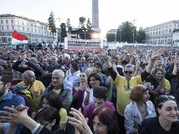 Elezioni Comunali Roma 2016: Alfio Marchini canta
