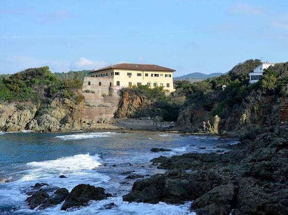 Spiaggia della Cianciafera a Castiglioncello