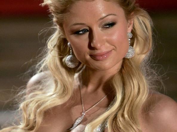Paris Hilton a Milano da Cotril Salons