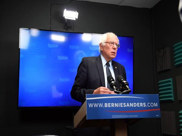 Usa 2016, Sanders: