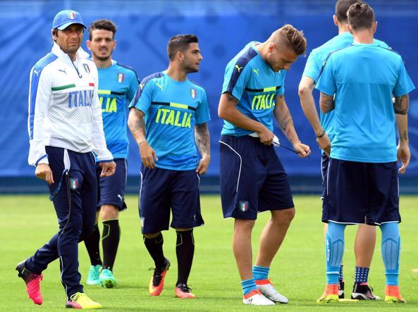 Italia, allenamento differenziato per Candreva. Buffon a riposo per febbre
