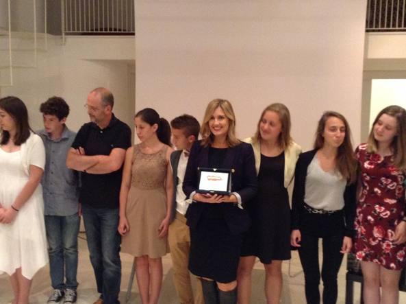 Jennifer  Niven  a Rimini dove ha ricevuto il Premio Mare di Libri