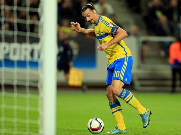 Euro 2016 svezia ibrahimovic smetto con la nazionale for Olimpici scandinavi