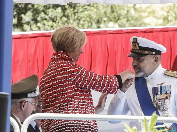 Ammiraglio De Giorgi, discorso di addio al vetriolo: