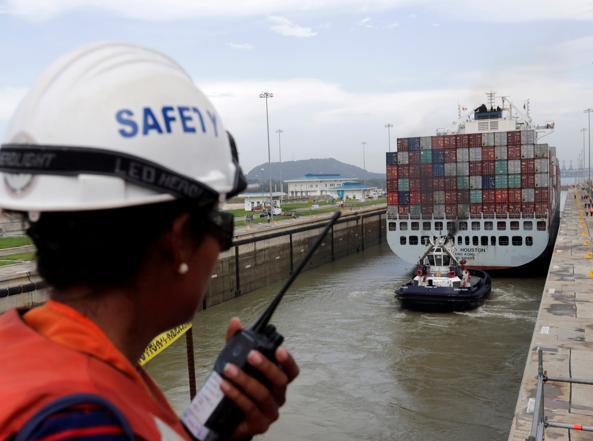 Navigazione ufficiale del canale di Panama