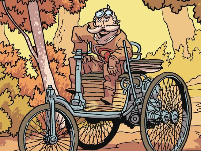 L'evoluzione dell'auto: la graphic novel
