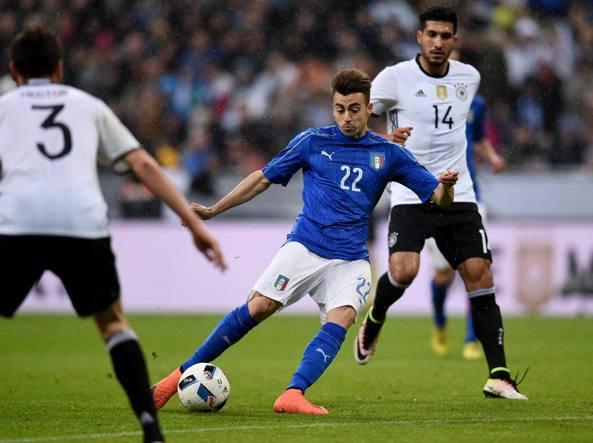Un momento dell'amichevole di marzo a Monaco di Baviera. Finì 4-1 per la Germania (Getty Images/Villa)