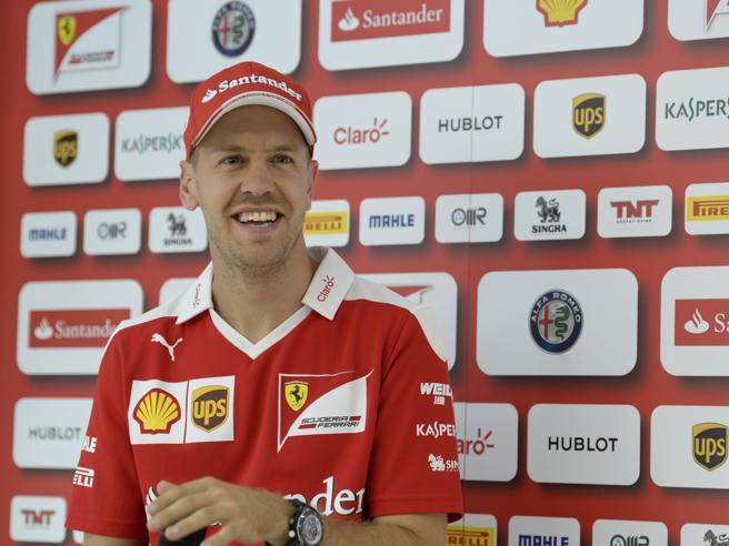 La F1 è ultrà tedesca, Vettel: «Domenica voglio svegliarmi felice»