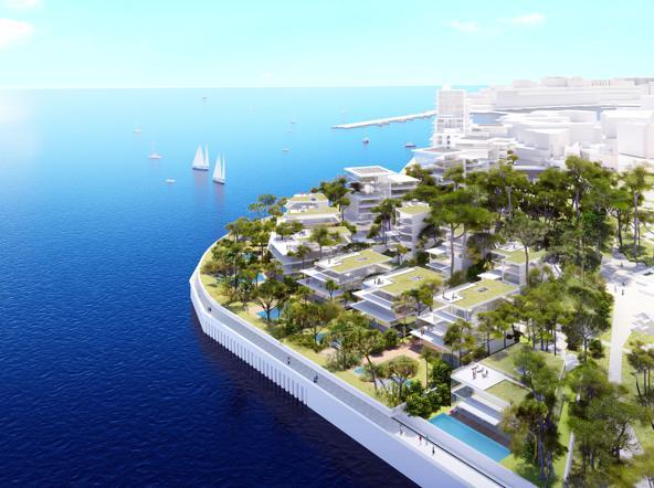 Lo sbarco cinese a montecarlo e il nuovo quartiere di for Progetto del piano di costruzione