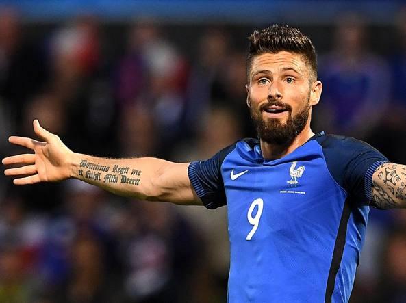 Bomber. Olivier Giroud, 29 anni, tre gol a Euro2016 (Afp/Fife)