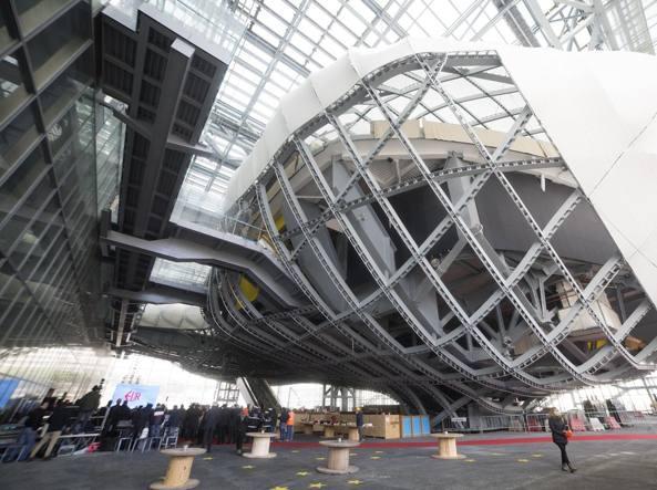Fuksas presenta il centro congressi ma non chiamatela for La nuvola di fuksas roma