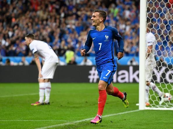 Antoine Griezmann, attaccante della Nazionale francese (Getty)