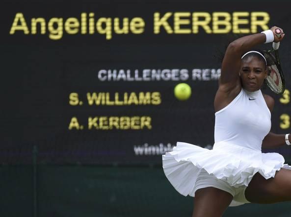 Wimbledon 2016: Williams-Kerber, orari Streaming Tennis Finale Diretta TV Oggi 9 luglio