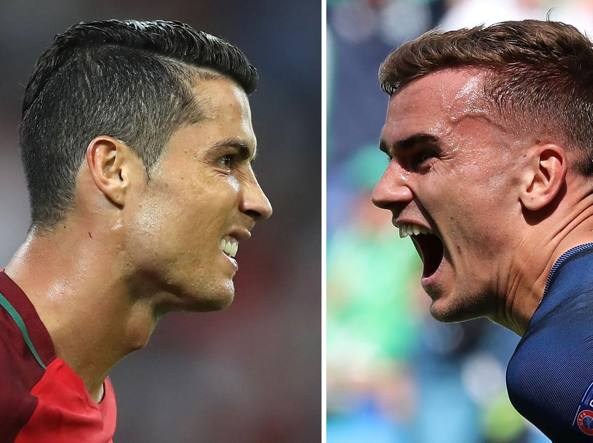 Portogallo-Francia 0-0: squadre negli spogliatoi. Out Cristiano Ronaldo