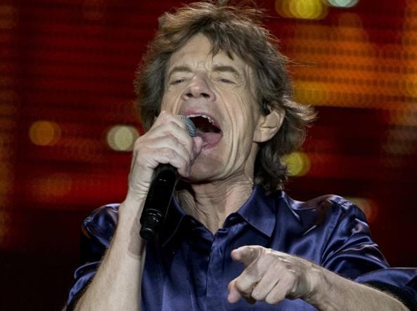 Mick Jagger nuovamente padre a 72 anni sara l ottavo figlio